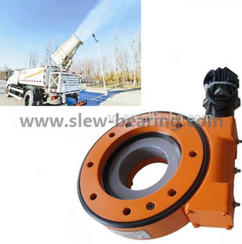 The advantage of hydraulic slew drive