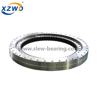 Double Row Ball Slewing Bearing (02) Internal Gear and Mounting hole or Threaded hole