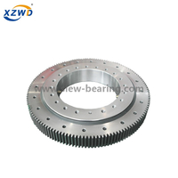 Single Row Four Point Contact Ball Slewing Bearing with External Gear for Revolving Amusement Equipment