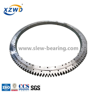 Stock Double Row Ball External Gear Slewing Ring Bearing (021.30.1120) for truck Crane on sale