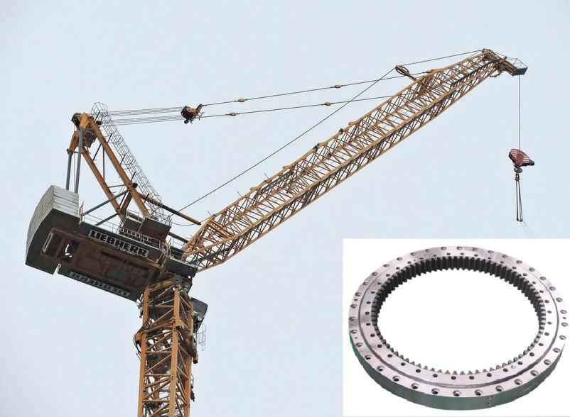 cheap tower crane slewing ring