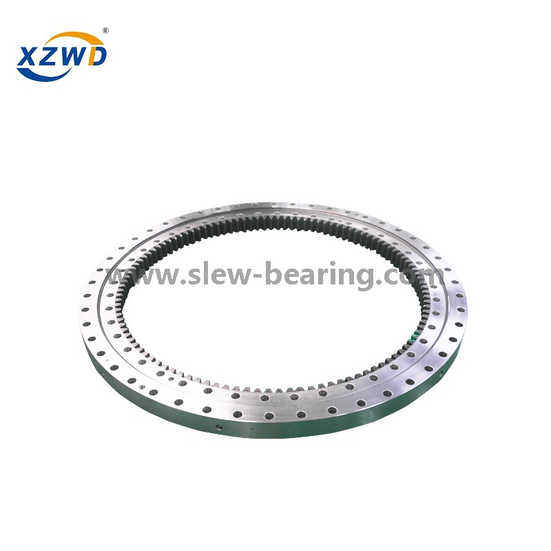Heavy Duty Single Row Ball Internal Gear Large Size Slewing Ring Bearing for Ferris Wheel
