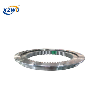 Teeth Hardened Single Row Four Point Contact Ball Slewing Ring Bearing 013.25.630