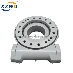 Xuzhou Wanda Hot sale high quality big enclosed housing helical gear slew drive SE21 with hydraulic motor