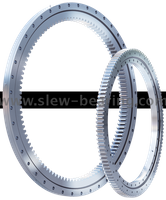Wanda Brand Single Row Four Point Contact Ball Slewing Ring Bearings For Machine Application