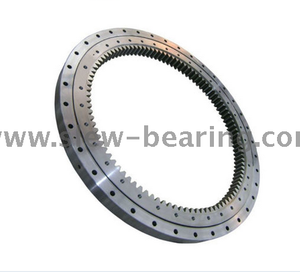 Light Weight Four Point Contact Ball Slewing Bearing for Aerial Platform