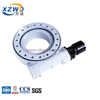 China manufactured good quality enclosed housing small size slew drive with motor for excavator tilt rotator
