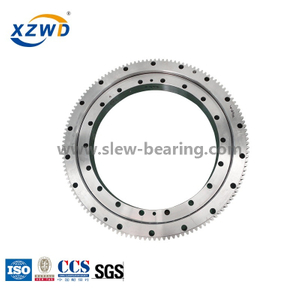 large diameter with gear single row ball slewing bearing turntable
