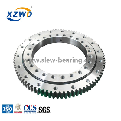 Small Diameter slewing ring shaking causes
