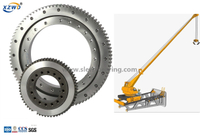 Single Row Four Point Contact Ball Slewing Ring Bearings For Crane