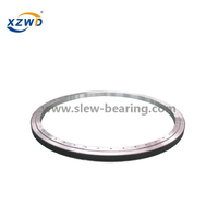 Single Row Four Point Contact Ball Slewing Bearing with Pinion for Children Flying Swing Rotating Chair Turntable Bearing