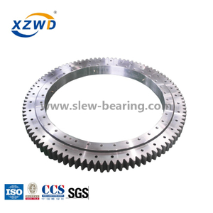 Light Internal Gear High Speed Slewing Bearing for Mini Digger