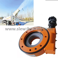 Enclosed SE Series Slewing Drive Worm Gear for Spray Car Machine