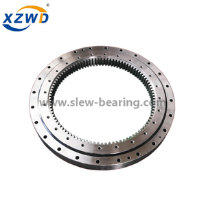 High Quality 4 Point Contact Ball turntable Slewing Ring replacement Rothe Erde slewing bearing