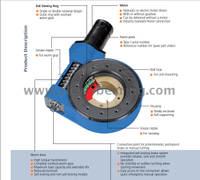 Professional China manufacture compact slewing drive SE Series and WEA Series