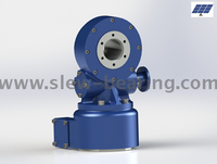 3 inch high precision dual axis slewing drive for solar tracking system