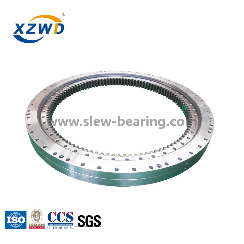 Heavy Load Internal Gear Double Row Ball Slewing Bearing for Tower Crane