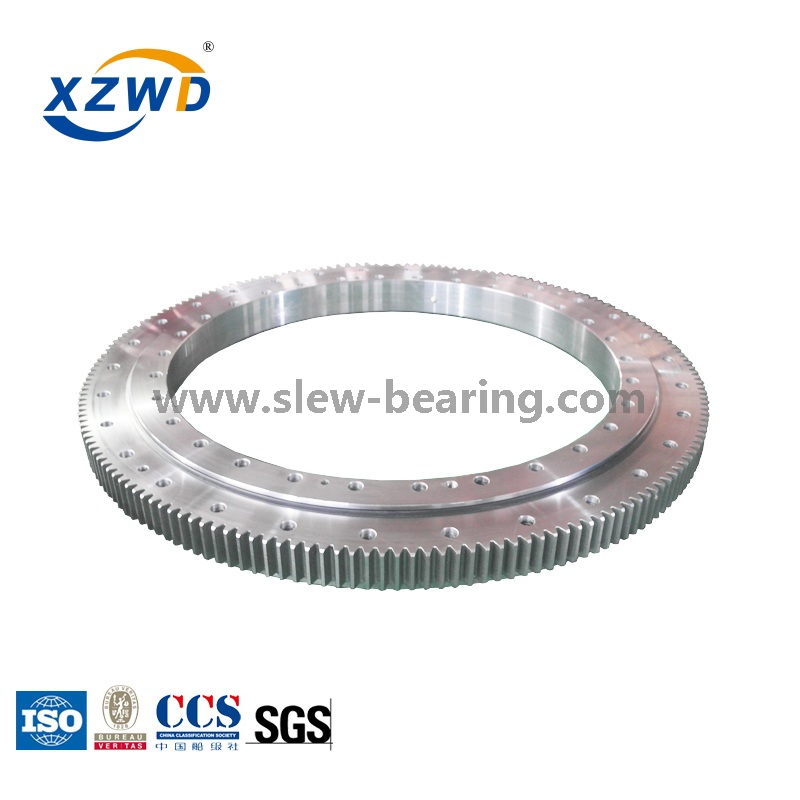 Crane Four-point Contact Ball Bearing with Deformable Swing Bearing