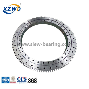 Light precision with High speed Turnable Slewing ring bearing with External gear