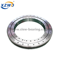 Double Row Ball Slewing Ring Bearing with External Gear For Slewing Crane