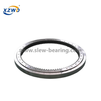 CCS Certified Internal gear tooth quenched single row ball slewing ring bearing from excavator