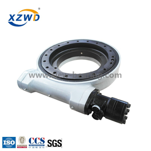 Xuzhou Wanda professional manufacturer more popular Enclosed housing heavy duty slewing drive WEA21