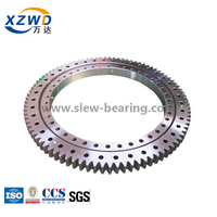 Four Point Contact Ball Slewing Ring Bearing For Rotary Conveyor Machine